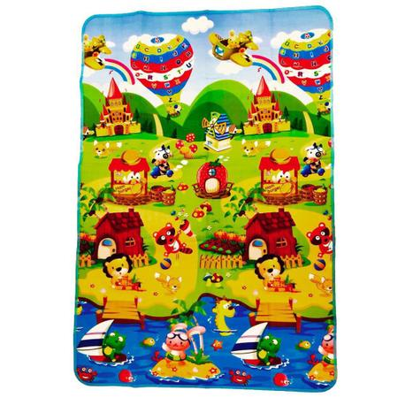Imagem de Tapete Infantil Dobrável Térmico com Bolsa para Transporte 1,80X1,20metros