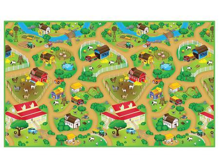 Imagem de Tapete Infantil Fazenda
