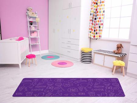 """Imagem de TAPETE INFANTIL PVC """"DOCES"""" - 0,50x1,20m."""