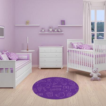 """Imagem de TAPETE INFANTIL PVC """"DOCES"""" - 70cm."""
