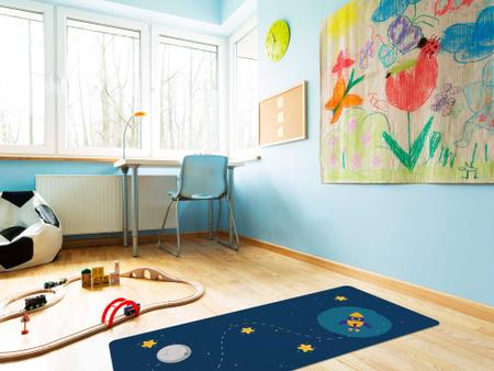 """Imagem de TAPETE INFANTIL PVC """"FOGUETE"""" - 0,50x1,20m."""