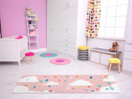 """Imagem de TAPETE INFANTIL PVC """"NUVENS"""" - 0,50x1,20m."""