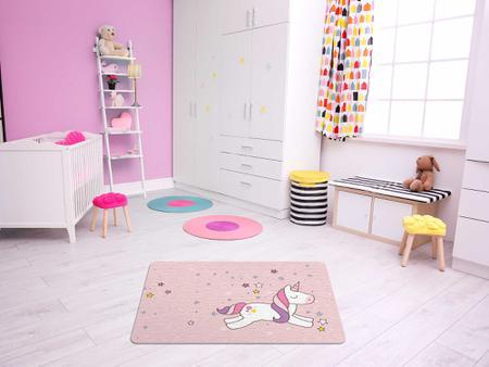 """Imagem de TAPETE INFANTIL PVC """"UNICORNIO"""" - 50x70cm."""