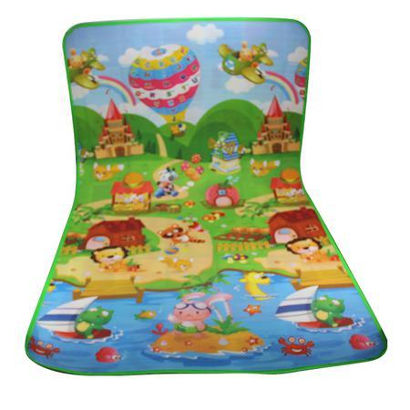 Imagem de Tapete Infantil Térmico Bebê 180x120 Cm Estampado Castelo
