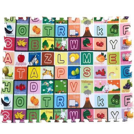 Imagem de Tapete Montável Infantil de Espuma com 6 peças