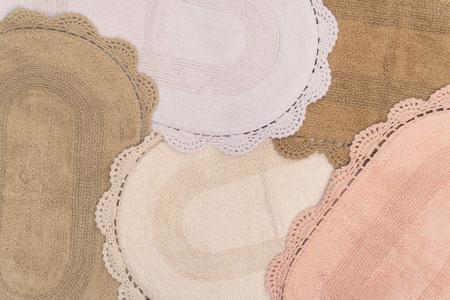 Imagem de Tapete Oval Crochê Kacyumara