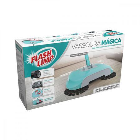 Imagem de Vassoura Mágica Flashlimp para Limpeza Geral Sintética