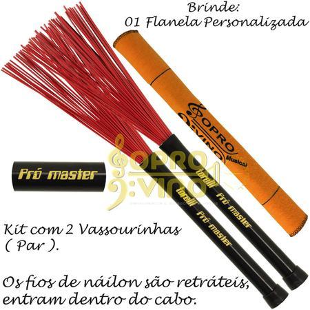 Imagem de Vassourinha Nailon Pró Master Medium Torelli TV085