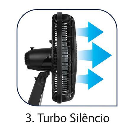 Imagem de Ventilador Arno Silence Force 3 Velocidades VF30CM