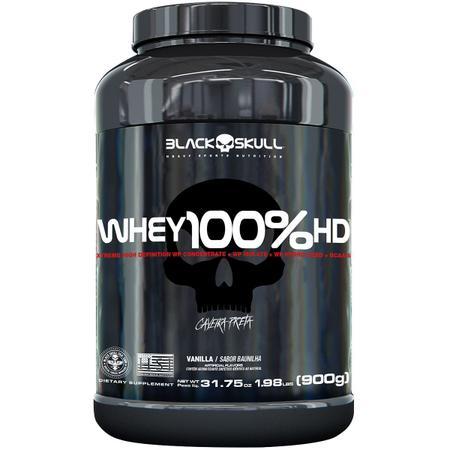 Imagem de Whey 100% hd black skull - 900g (wpc, wpi e wph)