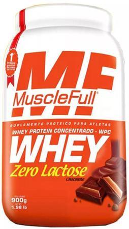 Imagem de Whey Concentrado Zero Lactose MuscleFull - 900g