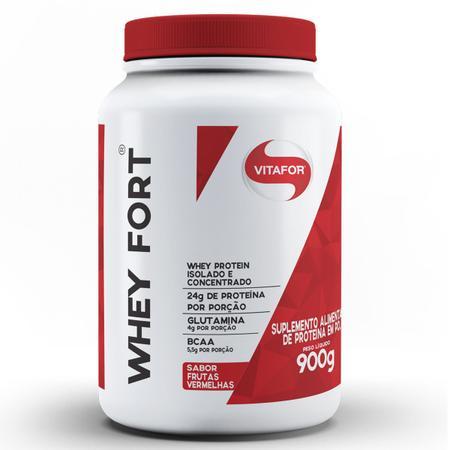 Imagem de Whey Fort 900g Proteina Isolada e Concentrada - Vitafor