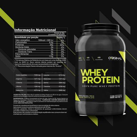 Imagem de Whey Protein 100 Pure 900g - Original Nutrition