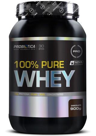 Imagem de Whey Protein 100% Pure Chocolate 900g Pote - Probiotica