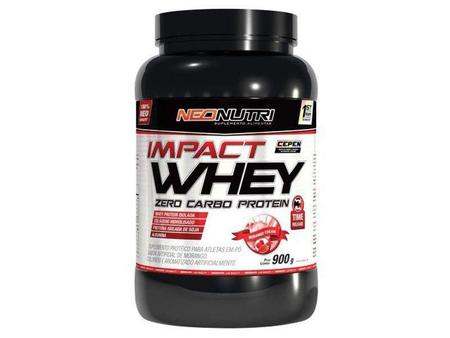 Imagem de Whey Protein Impact Zero Carbo 900g Baunilha