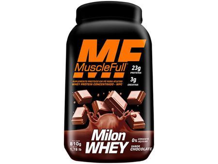 Imagem de Whey Protein Milon 810g - Chocolate - Muscle Full