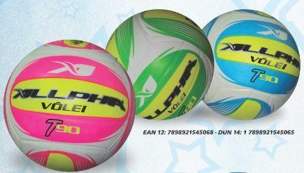 5aaf78820e59c Bola de Vôlei T90 Azul - Allpha Bolas - Bolas - Magazine Luiza