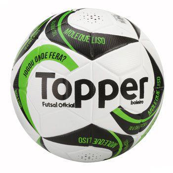 cb34262ddbd0e Bola Futsal Boleiro II Oficial S C - Topper - Bolas - Magazine Luiza