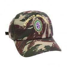 Boné Camuflado Bordado Exército Brasileiro - Mundo do militar - Boné ... 4551224b493