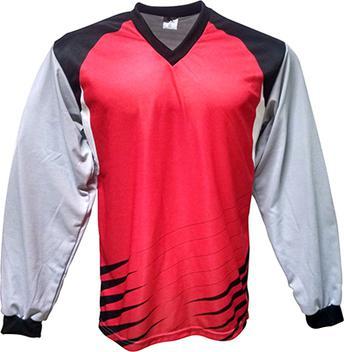 9081f17d2d Camisa de Goleiro modelo Parma número 1 Vermelho Preto - Kanga sport -  Vestuário Esportivo - Magazine Luiza