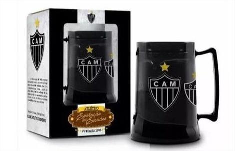 Caneca Gel Congelante Oficial Termica Atletico Mineiro Evolucao Dos Escudos Brasfoot Caneca Termica Magazine Luiza