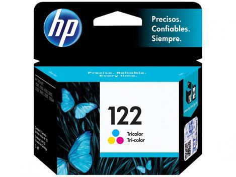 Cartucho de Tinta HP 122 Colorido - Original - Cartucho de Tinta