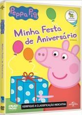 DVD Peppa Pig - Minha Festa De Aniversário - 953148 R$ 16,90 à vista.  Adicionar à sacola