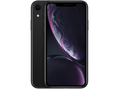 "iPhone XR Apple 64GB Preto 6,1"" 12MP - iOS - iPhone"