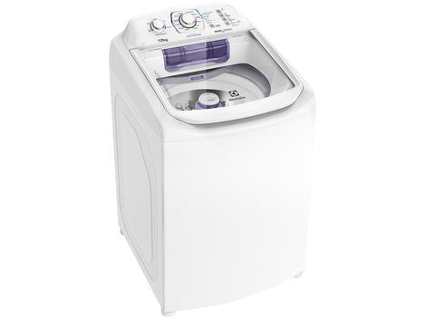 Lavadora de Roupas Electrolux LAC12 - 12Kg Cesto Inox 12 Programas de Lavagem - Máquina de Lavar