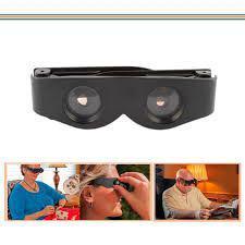 eb274e685 Imagem de Lupa de cabeça oculos binoculo ajustavel aumento 400 profissional  estetica depilacao costura zoomie. Carregando.