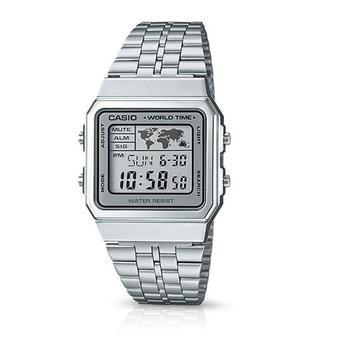 be8e380de22 Relógio Casio Vintage World Time A500wa-7df - Relógios - Magazine Luiza