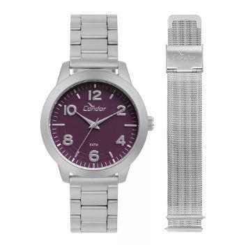 f4f6b5db55a Relógio CONDOR Troca pulseiras Feminino CO2036KUP T3G - Relógio ...