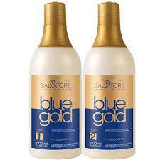 4ac105a5f Salvatore Blue Gold 2x500ml - Salvatore cosméticos - Progressiva ...