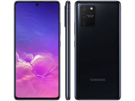 "[APP] [Cliente Ouro] Smartphone Samsung Galaxy S10 Lite 128GB Preto 4G  - Octa-Core 6GB RAM Tela 6,7"" Câm.Tripla Selfie 32MP - Galaxy S10"