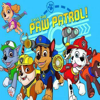 Tnt Painel Patrulha Canina Piffer Painel De Festas Magazine