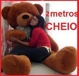 adafc2d48 Urso Gigante De Pelucia Teddy Bear Gigante 2 Metros 200 cm Cheio - Ursos e  pelucias - Pelúcia - Magazine Luiza