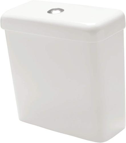 Caixa Acoplada para Vaso Sanitário com Mecanismo Etna Branco 3L e 6L I