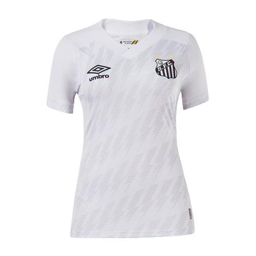 Camisa umbro santos oficial 1 2021 feminina