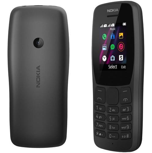 Celular Nokia 110 Dual Sim Mp3 Rádio Fm Tela 1.77 - Preto