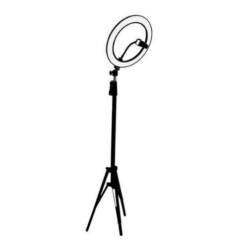 Iluminador de Led Ring Light 14 Polegadas 48w + Tripé 1.40 + Suporte M