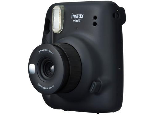 Instax Mini 11 Fujifilm Grafite Flash Automático - com Acessórios
