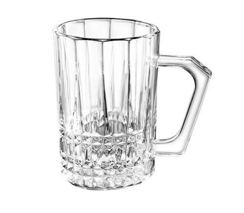 Jogo de 6 xicaras Coffe Time em vidro 160ml - Full Fit