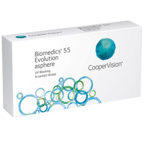 Lente de contato biomedics 55 evolution coopervision