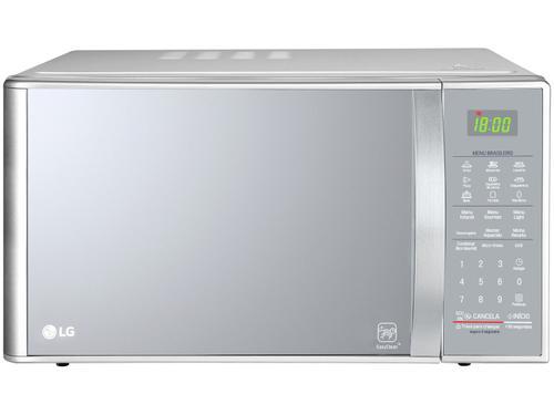 Forno de Micro-ondas LG MH7093BR Grill Quartzo 30 Litros Prata