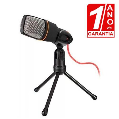 Microfone de Mesa Condensador para Celular,Computador e Notebook - Red