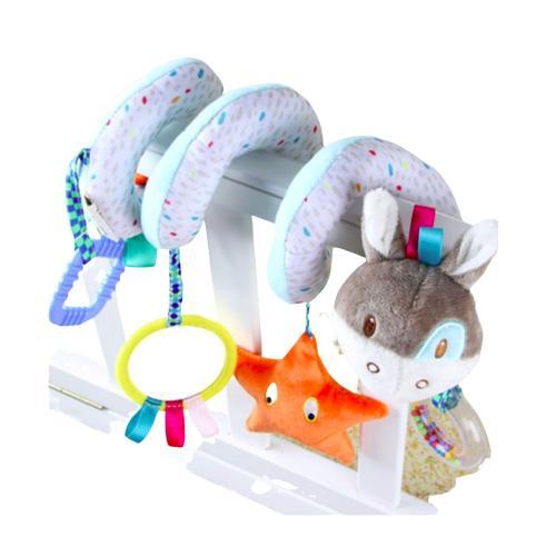 Móbile Espiral Para Carrinho de Bebê Cadeira de Carro Cavalinho - Baby