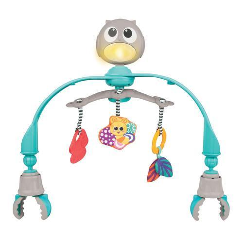 Móbile Musical com Luz 2 em 1 - Baby Corujinha - WinFun - Yes Toys