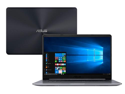 Notebook Asus Vivobook X510UA-BR667T i5 8GB 1TB Tela 15.6'' Windows 10 Home Cinza