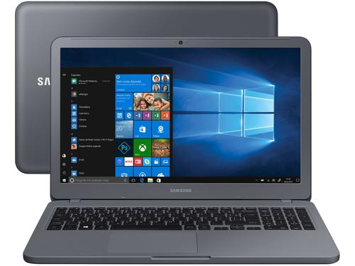 "Notebook Samsung Expert X30 NP350XBE-KD1BR i5-8265U 8GB 1TB 15.6"" Windows 10 Metallic Titanium"