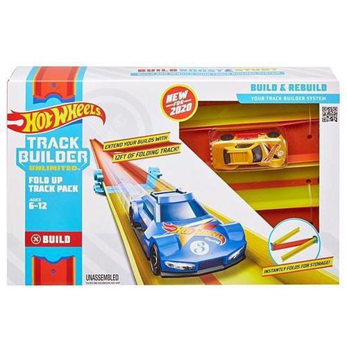 Pista Hot Wheels Conjunto de Pista Dobrável Mattel
